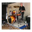 Revostage Drumriser 4 m², with 1 x 1 m Elements, 40 cm...